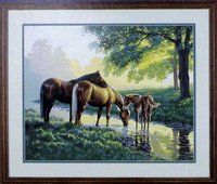 Horse by a Stream Paintworks!