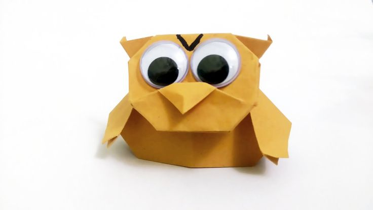 Origami Owl - Finger Puppet - Paper Thimble