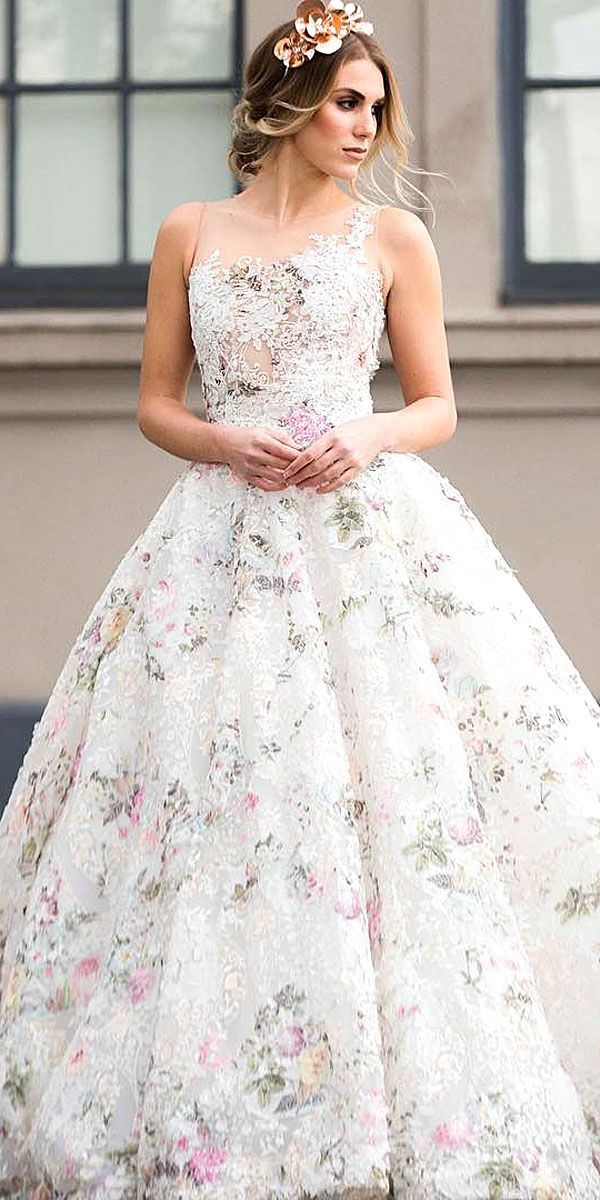 ines di santo ball gown silhouette wedding dresses 7