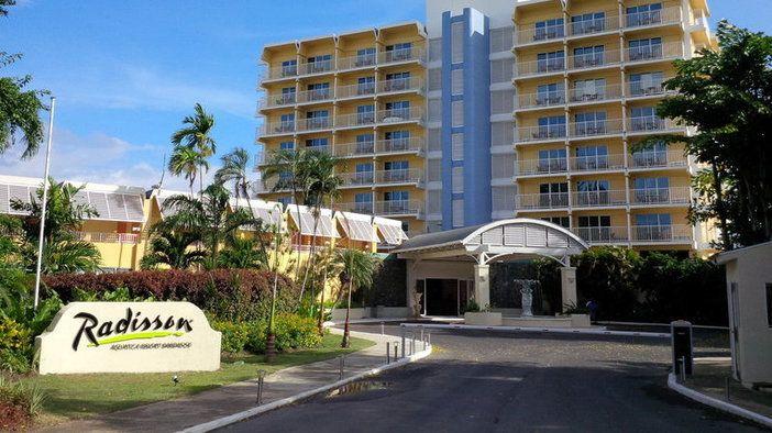 Radisson Aquatica Resort Barbados located in Carlisle Bay on Barbados South coast
