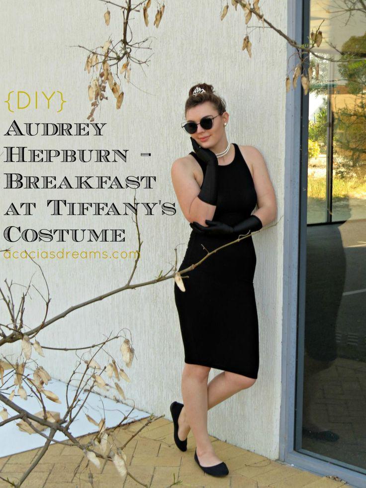 {DIY} Audrey Hepburn – Breakfast at Tiffany's Costume