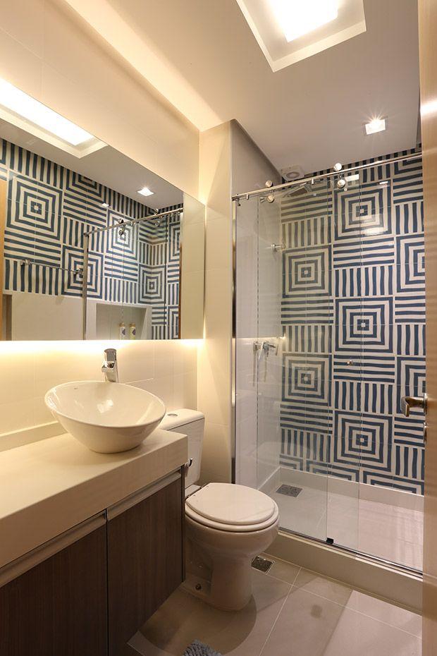 Banheiro Larissa- projeto 2+ Arquitetura www.facebook.com.br/doismaisarquitetura