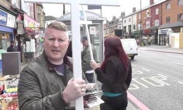 Britain First Flee Birmingham When Confronted By 'Extremely British Muslim'