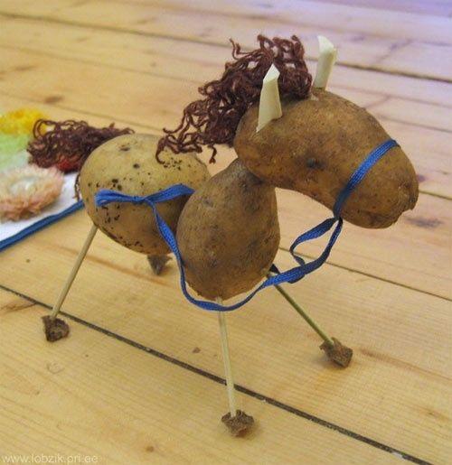 Orsolya nap 2. - Barkácsolás zöldségekkel, zöldségekből gyerekekkel - Napról napra óvoda