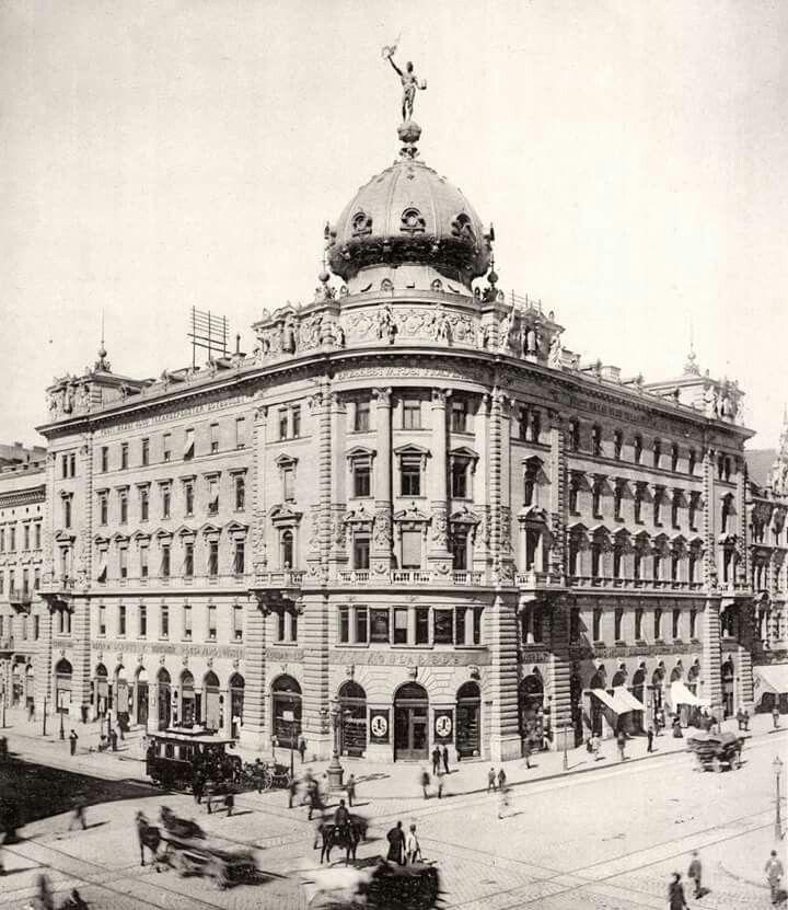 1893. Rákóczi (Kerepesi) út Erzsébet körút sarok.