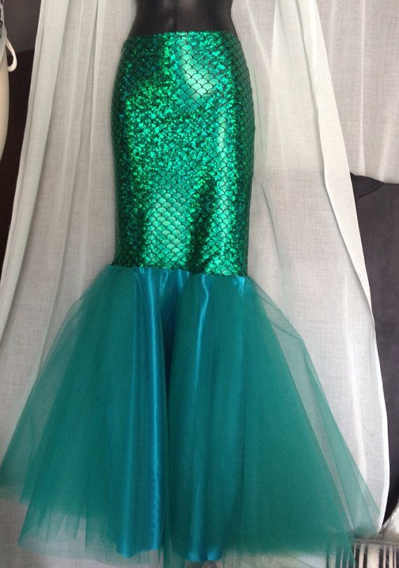 MERMAID PRINCESS- Adult Mermaid Tail/ Mermaid Costume, The Little Mermaid Adult…