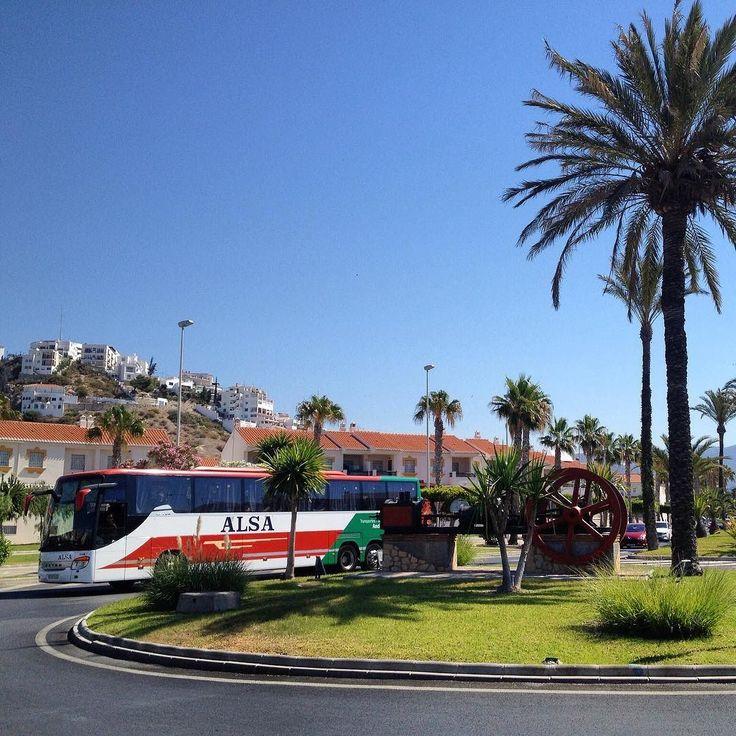 #InstagramELE #desplazar  Muchas veces el autobús es la mejor manera para desplazarse por España.