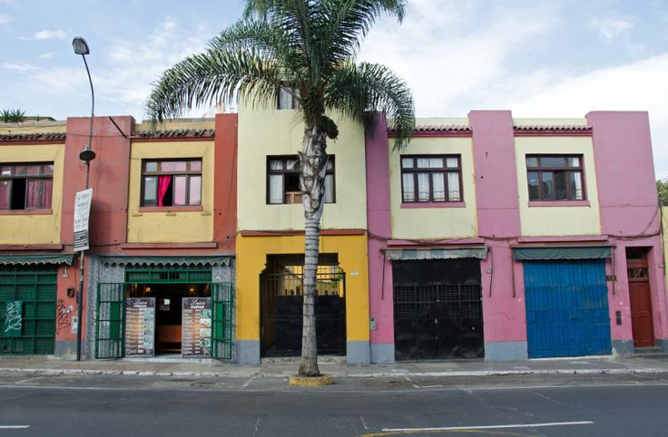 Barranco buildings