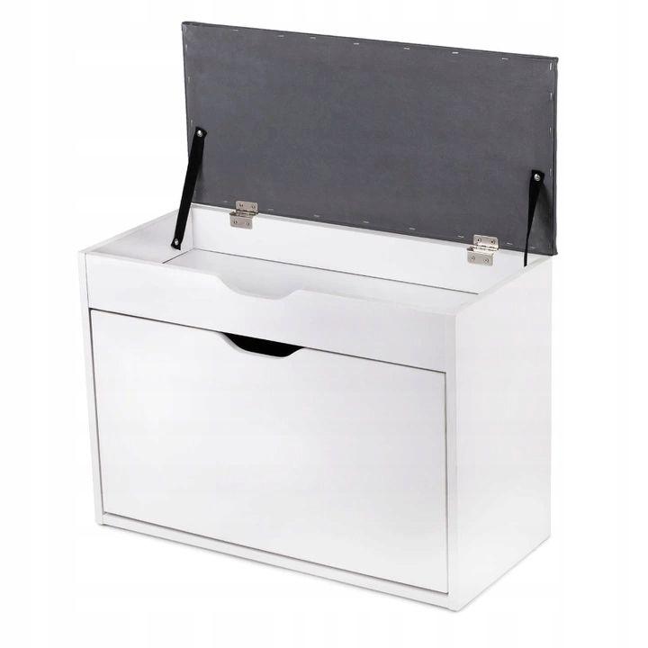 Szafka Na Buty Z Siedziskiem Finnes Homekraft New 7937237238 Allegro Pl Storage Wood Shoes Lockers