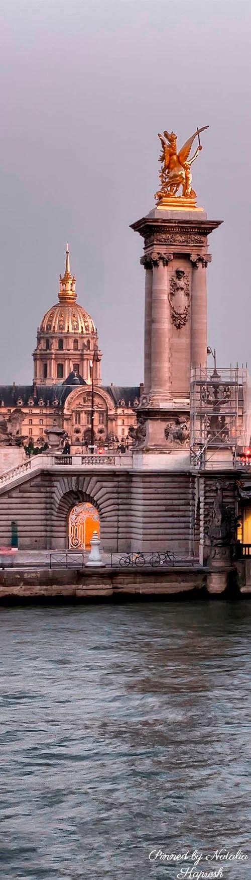Paris; Pont Alexandre III