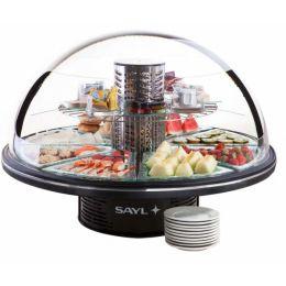 El pequeño buffet de diseño circular revolucionario que ofrece una autentica visión de 360º. Pensado para dar a sus clientes garantía de conservación de sus productos a la vez que un atractivo elemento decorativo para sus salones. http://www.ilvo.es/es/product/le-petit-buffet
