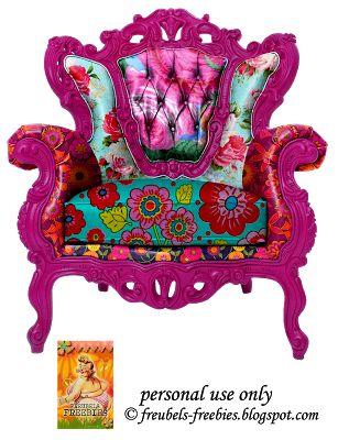 BAROQUE - ROCOCO chair.
