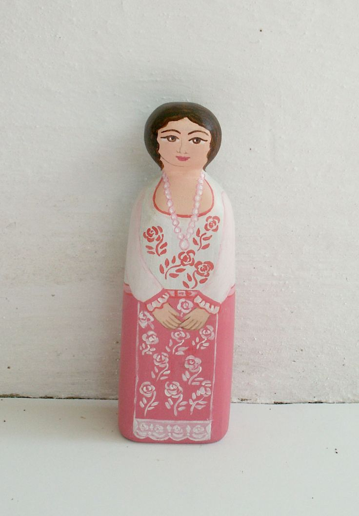 Female figure modern pink dress