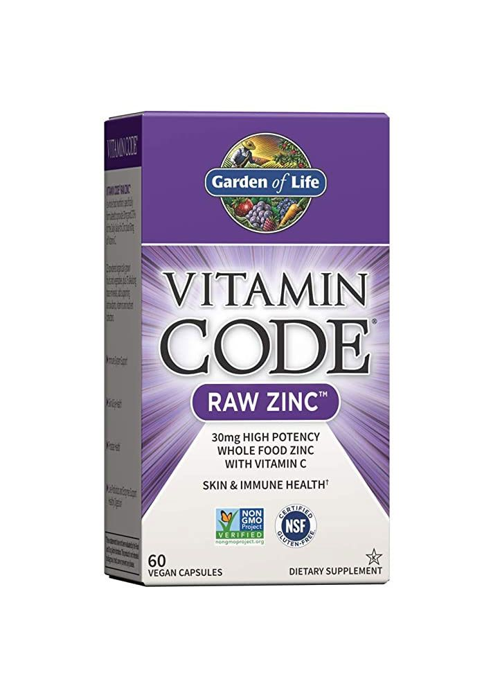 The Best Zinc Supplements You Can Still Stock Up On In 2020 Zinc Supplements Vitamin Code Garden Of Life Vitamins