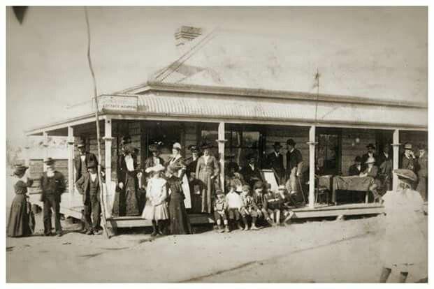 Kurri Kurri Village Hospital opening. 1904.