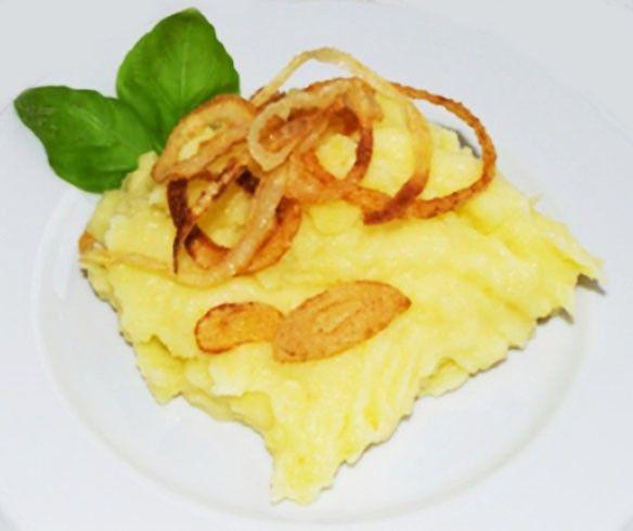 Krumplipüré bécsi módra