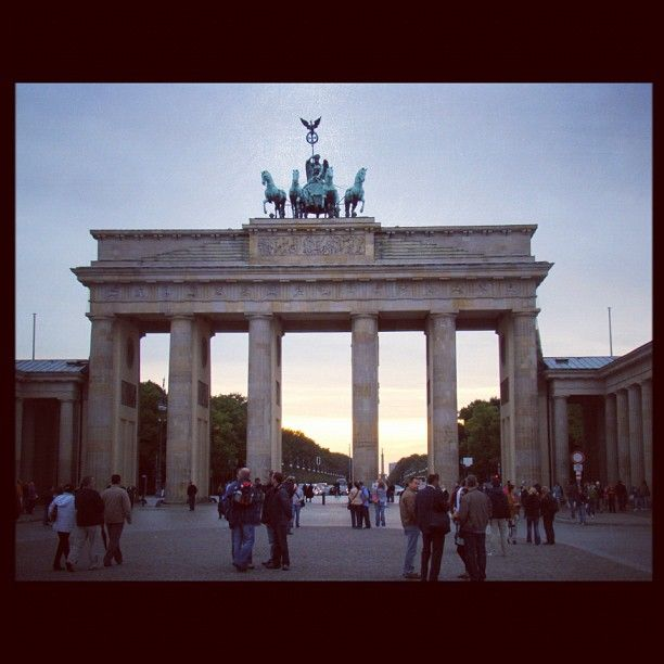 A nice summer afternoon at the Brandenburger Tor, Berlin #travel