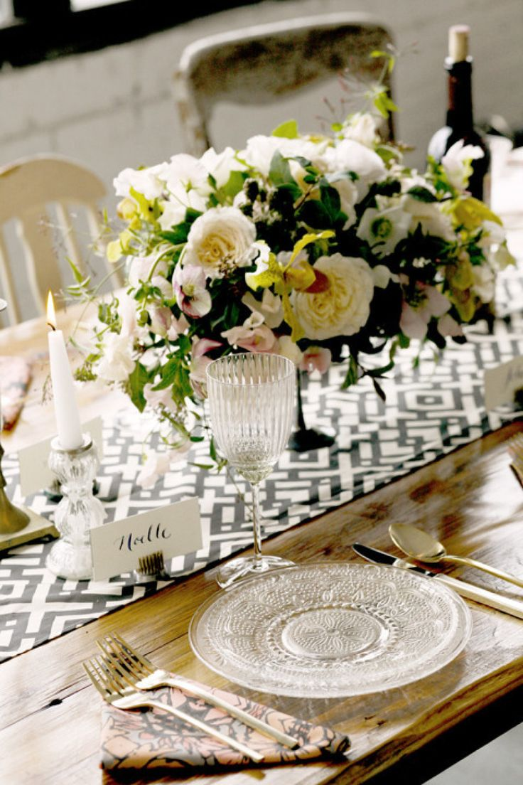 Table spring wedding tablescapes - Patina With Poppies And Posies Belathee Photography