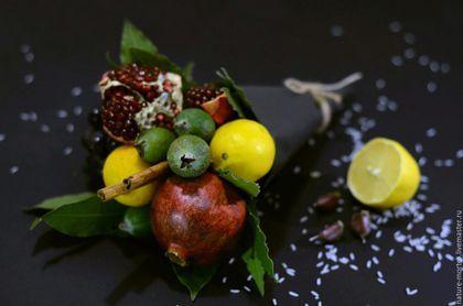 Цветы ручной работы. Ярмарка Мастеров - ручная работа. Купить Букет из овощей и фруктов - Помрачение ума (alienatio mentis). Handmade.