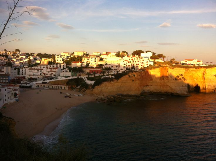 Carvoeira at sundown - a little like Duncannon, Co Wexford (only a little!)
