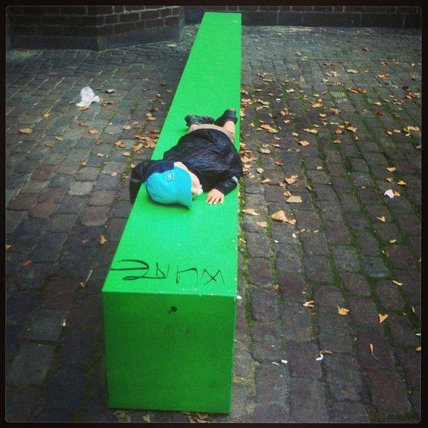 Green resting Copenhagen
