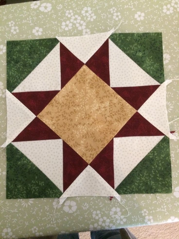 A square from the Jingle pattern.