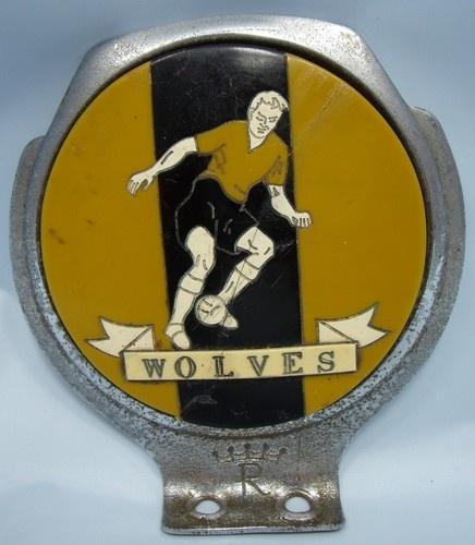 Wolves FC car badge