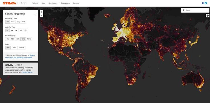 A global map published by the company shows users' movements and is said to expose data about bases and personnel, including those of U.S. forces in Iraq and Syria.