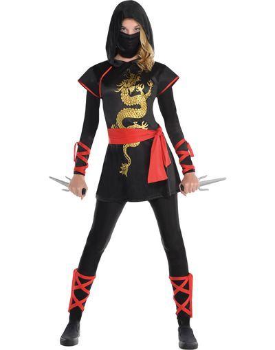 Teen Girls Ultimate Ninja Costume - Party City