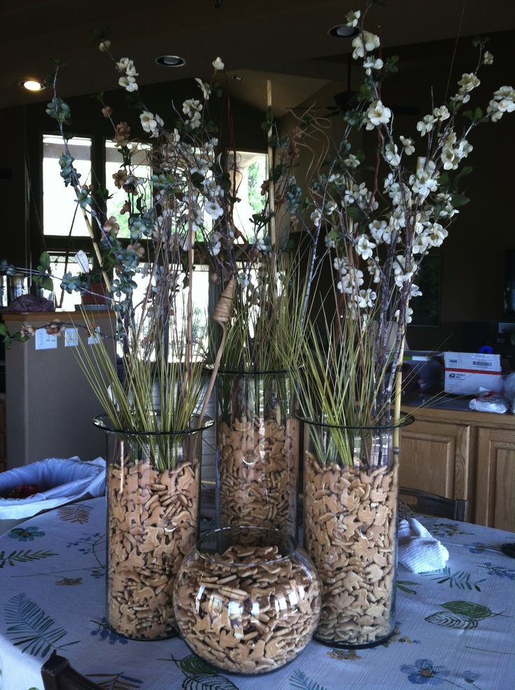 Best jungle centerpieces ideas on pinterest safari