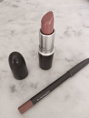 Hug me lipstick by Mac. Great everyday neutral nude :)c