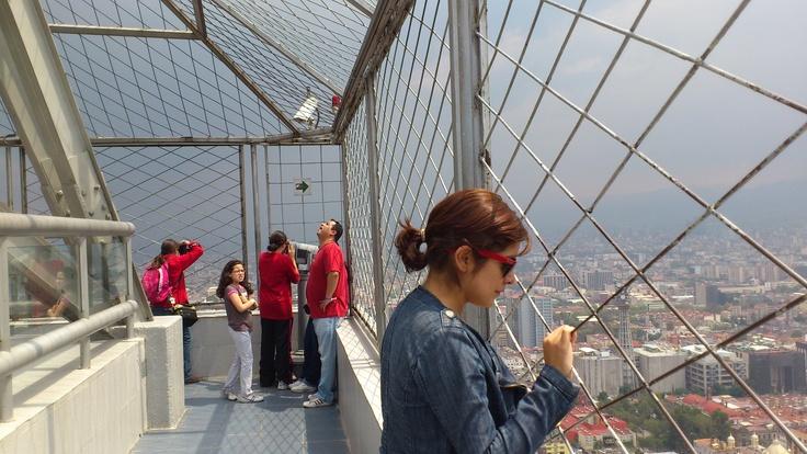 Mirador de la Torre Latinoamericana, Mexico. (LAG).