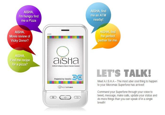 Artificial Intelligence Speech Handset Assistant (AISHA) Musst check this out