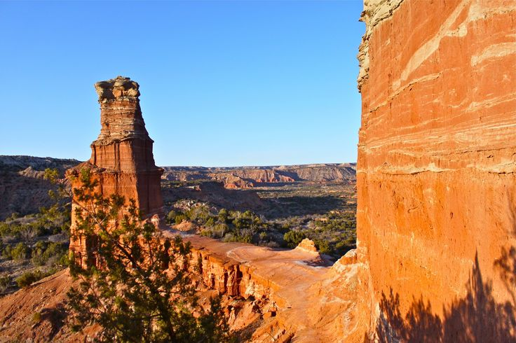 Hike to the Lighthouse in Palo Duro Canyon, Texas