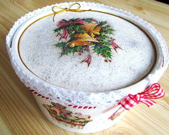 Świąteczne pudełko http://m-b-k.blogspot.com/2015/12/swiateczne-pudeko.html