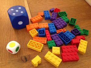 Begeleide of zelfstandige activiteit - Een activiteit met kleuren, tellen…