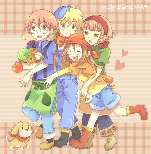 69 Best Images About Harvest Moon On Pinterest