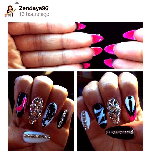 #zendaya #clawnails want some like this /.^