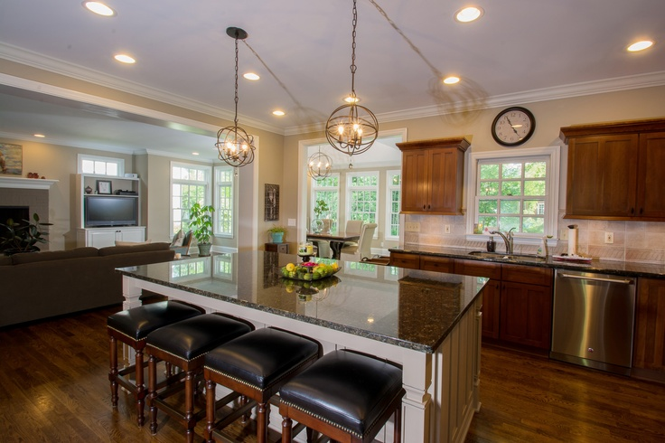 New Albany Ohio Addition With Kitchen Update Designed By Brandon Okone And Stefanie Ciak Of J S