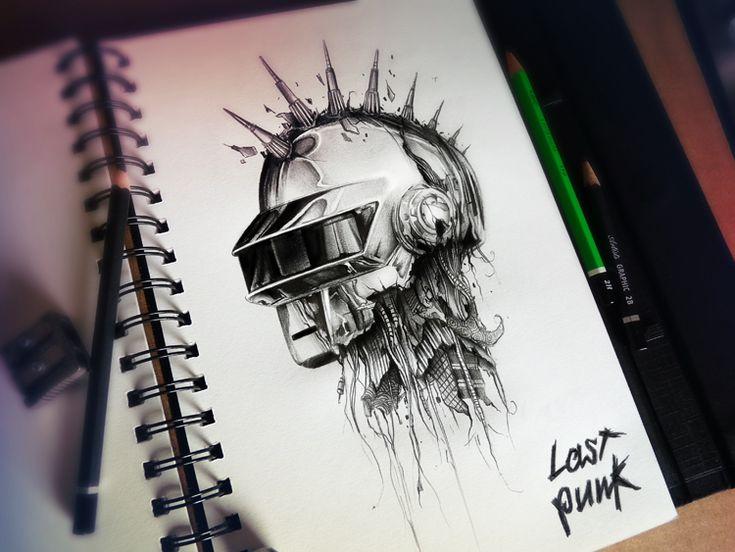 Daft Punk Dark by PEZ