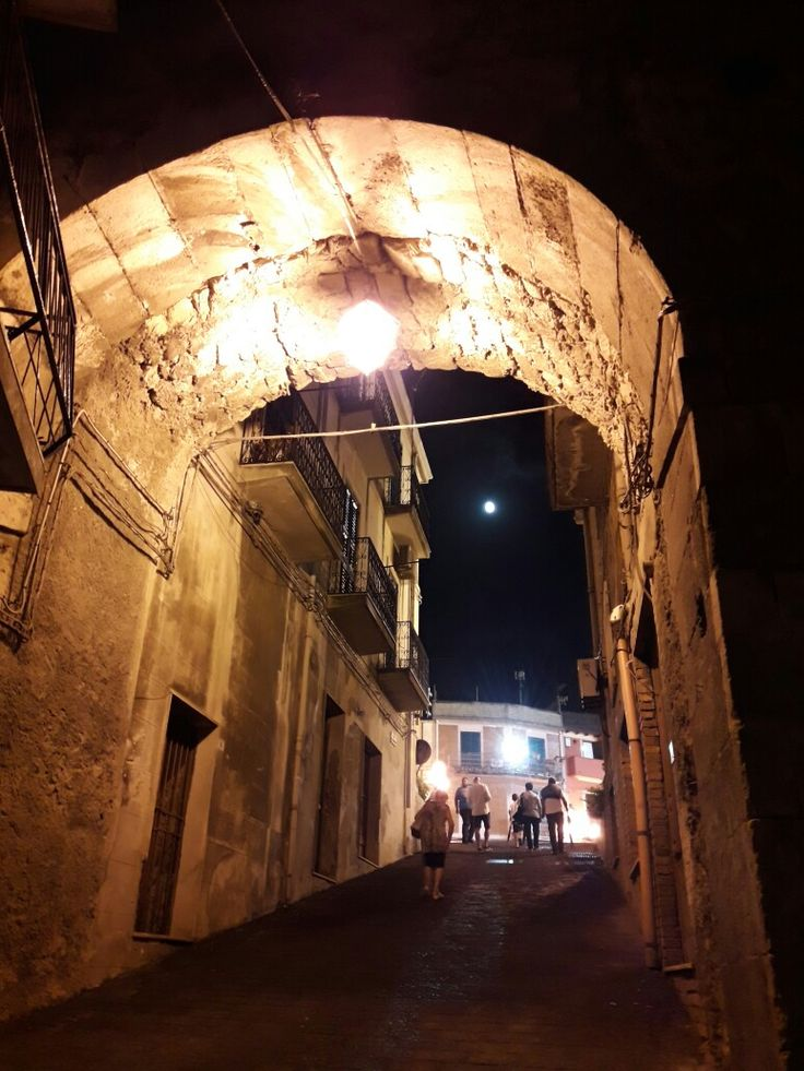 Street in Monforte San Giorgio - Messina