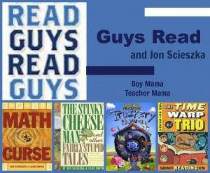 Boy Mama Teacher Mama   Guys Read and Jon Scieszka from boymamateachermama.com