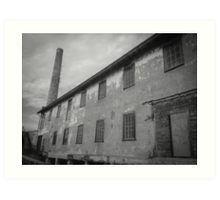 """Alcatraz Ruins: Storehouse and Power Plant Chimney"" Art Prints by ThreeEyedKat | Redbubble"