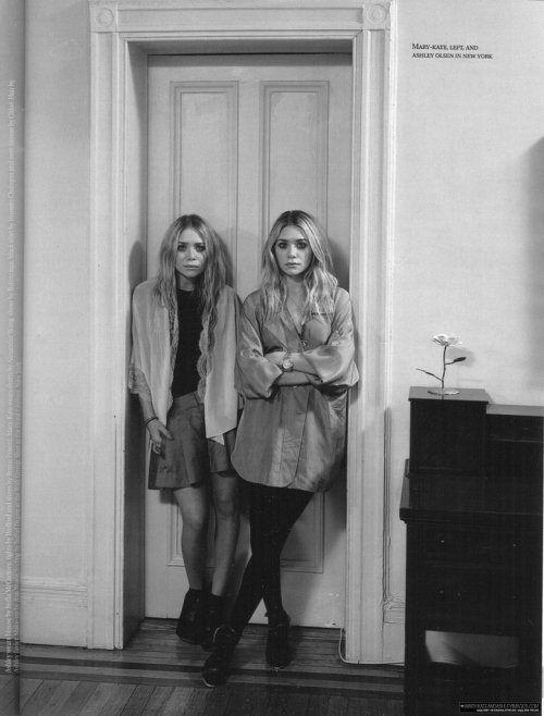 Olsen sisters.