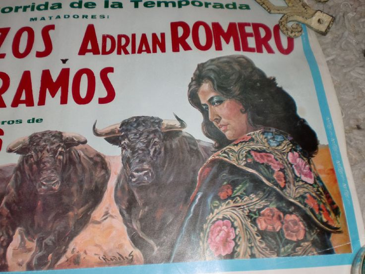 17 best images about torero posters on pinterest How do you say dab in spanish