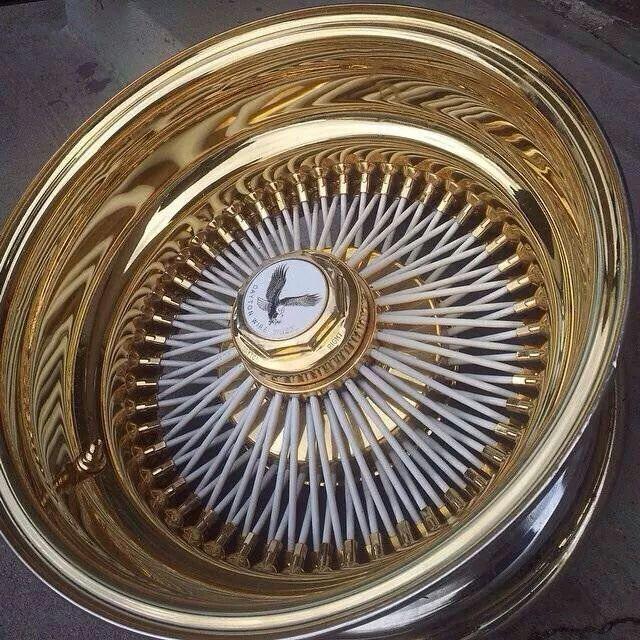 Spoke wire wheel