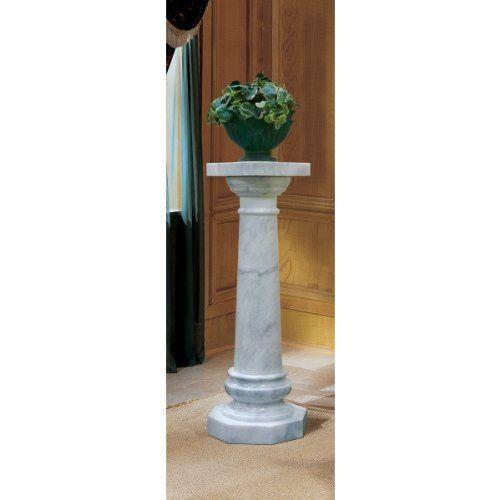 Best Pedestals And Columns Images On Pinterest Pedestal - Column pedestal plant stand