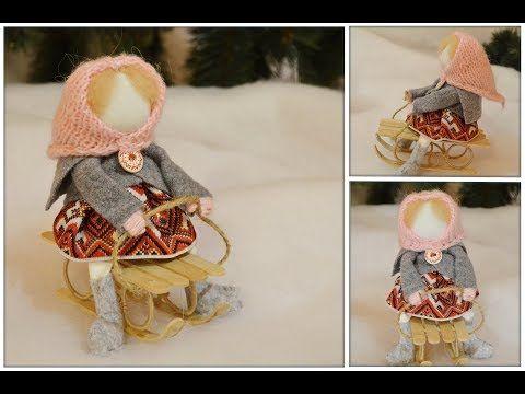 Видео мастер-класс: делам куколку в народном стиле - Ярмарка Мастеров - ручная работа, handmade