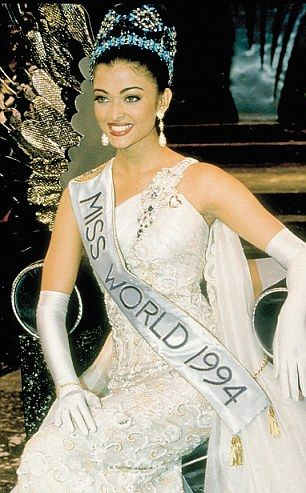 'The most beautiful woman in the world': Aishwarya Rai won Miss World in 1994 Favorite INDIAN actress and dancer!v Gotta love her