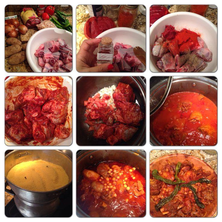 Couscous tunisien with lamb tunisie cuisine pinterest for Cuisine olfa